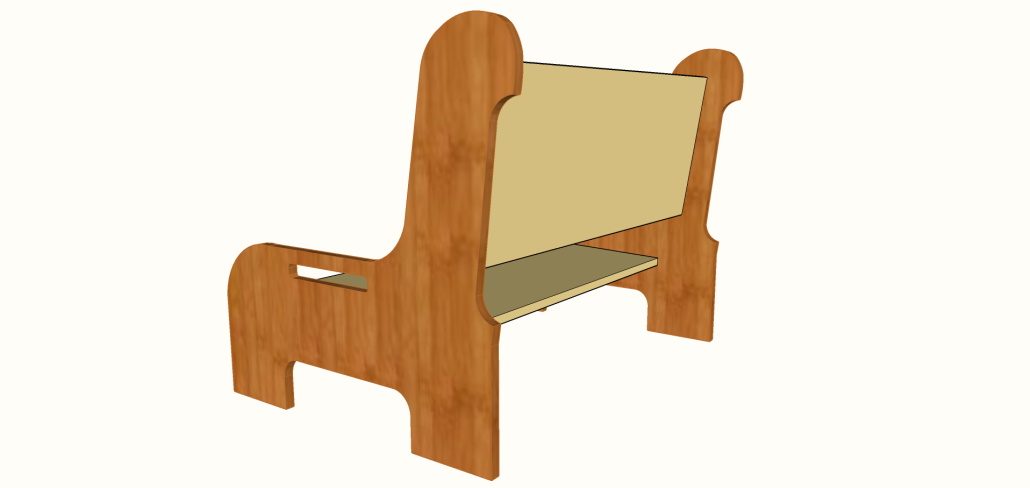 Hamzah Bench Montessori Chair And Bench For Toddlers